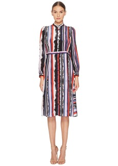 Prabal Gurung Multi Long Sleeve Dress