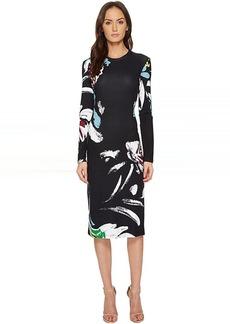 Prabal Gurung Printed Viscose Long Sleeve Dress