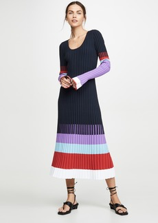 Prabal Gurung Scoop Neck Colorblock Dress