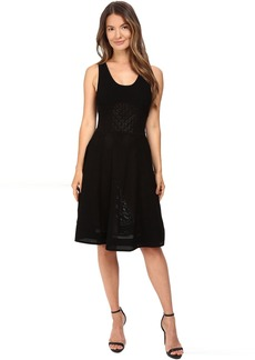 Prabal Gurung Sleeveless Knit Flared Skirt Dress