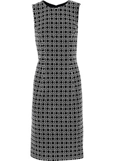 Prabal Gurung Woman Embroidered Woven Dress Black