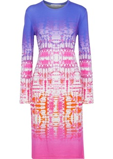 Prabal Gurung Woman Tie-dyed Stretch-jersey Dress Violet