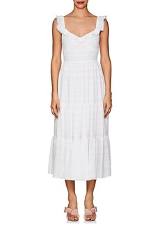 Prabal Gurung Women's Cold-Shoulder Tiered Dress