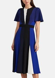 Prabal Gurung Women's Colorblocked Silk Dress