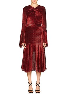 Prabal Gurung Women's Devoré Velvet Dress