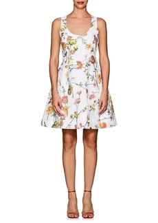 Prabal Gurung Women's Floral-Jacquard Cocktail Dress