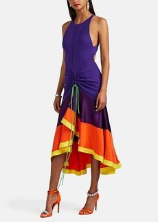 Prabal Gurung Women's Jhanta Colorblocked Silk Flared Dress