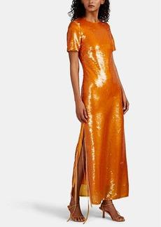 Prabal Gurung Women's Sequin-Embellished Column Gown