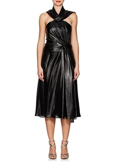 Prabal Gurung Women's Silk-Blend Lamé Cocktail Dress