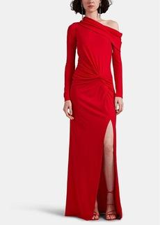 Prabal Gurung Women's Twist-Detailed Jersey Off-The-Shoulder Gown