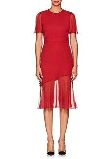 Prabal Gurung Women's Victoria Silk Asymmetric Dress