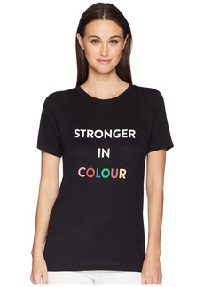 "Prabal Gurung Printed ""Stronger in Colour"" Tee"
