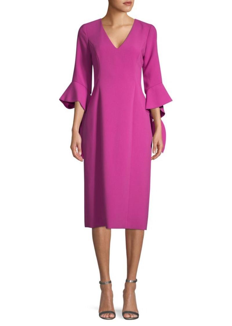 Prabal Gurung Ruffled Knee-Length Dress