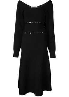 Prabal Gurung scoop neck convertible knitted dress