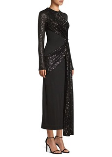 Prabal Gurung Sequin Jersey Dress