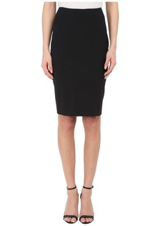 Prabal Gurung Stretch Wool Knee Length Skirt