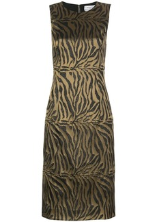 Prabal Gurung tiger-print sleeveless sheath dress
