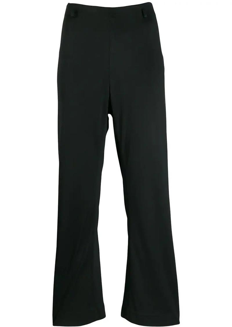 Prada 1990's kickflare cropped trousers