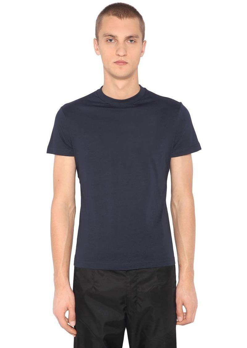 Prada 3 Pack Cotton Jersey T-shirts