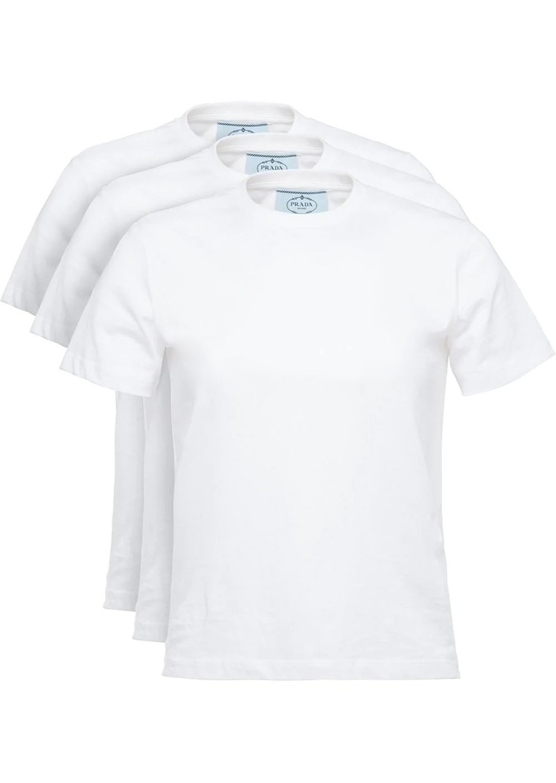 Prada 3 pack T-shirt set