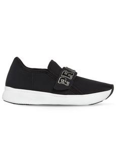 Prada 30mm Logo Strap Neoprene Sneakers