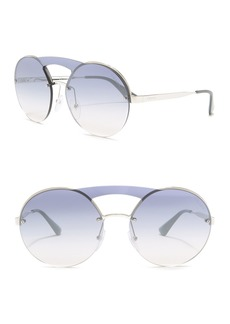 Prada 36mm Round Sunglasses