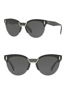 Prada Phantos 43mm Cat Eye Sunglasses