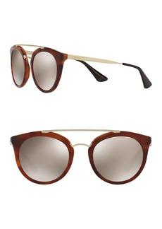 Prada 52mm Phantos Cat Eye Sunglasses