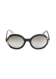 Prada 53MM Oval Sunglasses