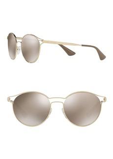 Prada 53mm Phantos Catwalk Round Sunglasses