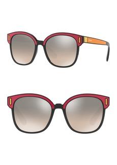 Prada 53mm Square Sunglasses