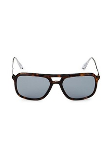 Prada 54MM Aviator Sunglasses