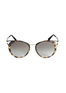 Prada 54MM Rounded Cat Eye Sunglasses