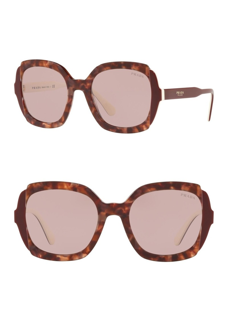 Prada 54mm Square Sunglasses