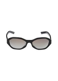 Prada 56MM Geometric Sunglasses
