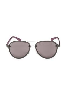 Prada 58MM Aviator Sunglasses