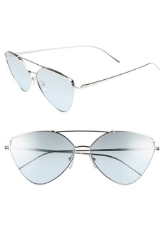 Prada 62mm Oversize Aviator Sunglasses