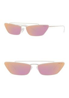 Prada 67mm Cat Eye Sunglasses