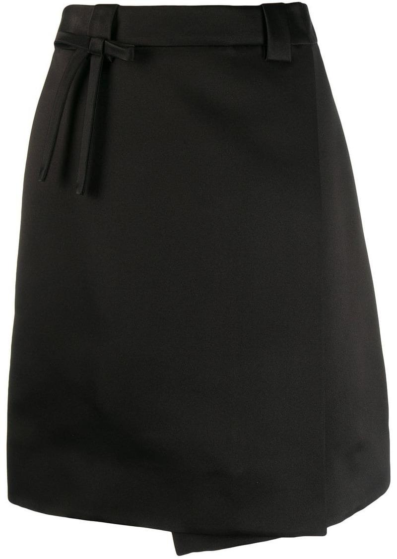 Prada A-line gabardine skirt