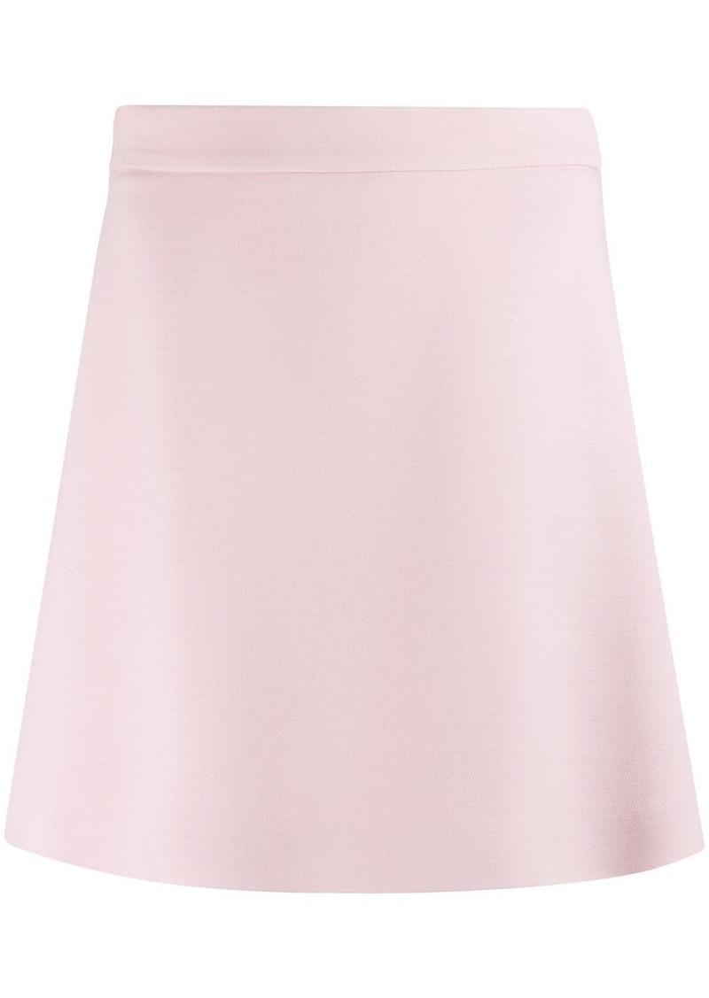 Prada A-line shorts skirt