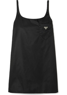 Prada Appliquéd Shell Mini Dress