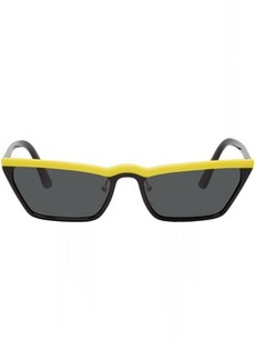 Prada Black & Yellow Ultravox Sunglasses