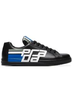 Prada black Avenue leather low-top sneakers