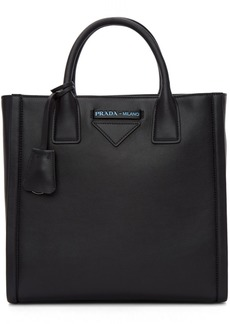 Prada Black Concept Structured Tote