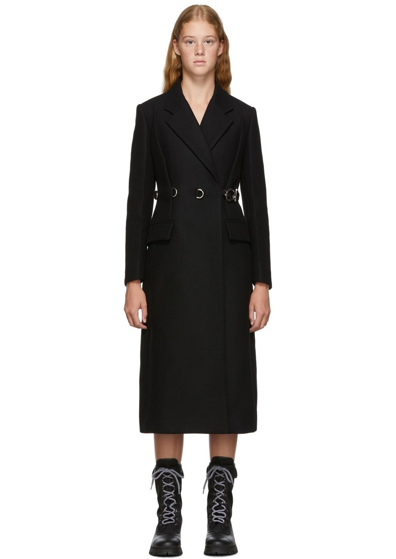 Prada Black Double Coat