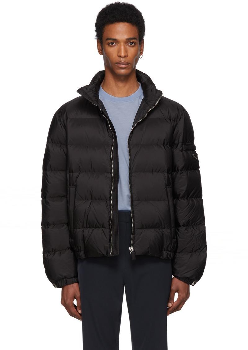 Prada Black Down Nylon Jacket