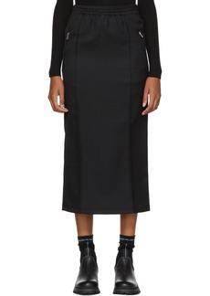 Prada Black Drawstring Pocket Skirt