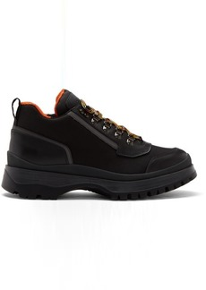 Prada Black Hybrid Hiking Boots