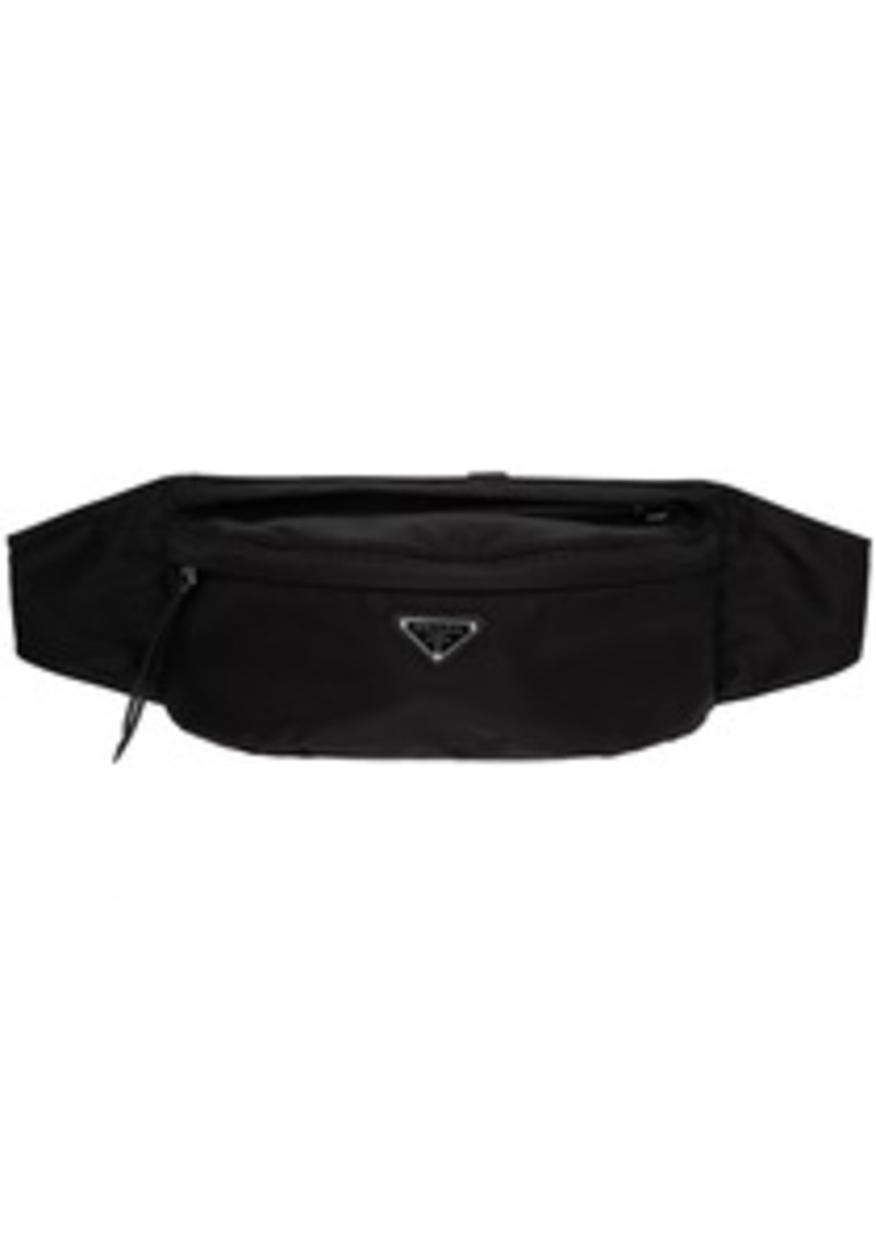 Prada Black Larger Classic Belt Pouch