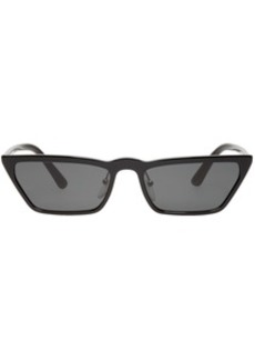 Prada Black Micro Cat Eye Sunglasses